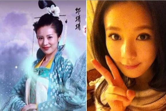 新版《神雕侠侣》众女星素颜大公开陈妍希素