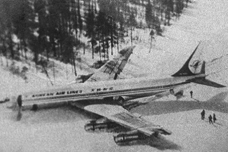 震驚!飛機失蹤35年後成功降落機場